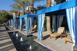 Pool Cabanas at Legacy Villas