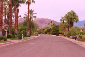 Indian Wells, CA. non-golf course communities