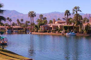 Lake La Quinta in La Quinta, CA.