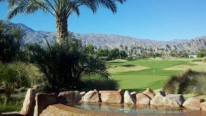 Mountain Cove offers golf course views..