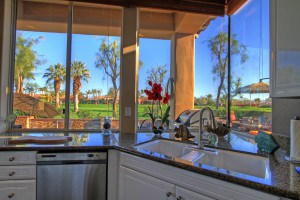 Indoor dining with views in the kitchen at 79300 Liga St.